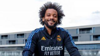 Marcelo, durante la pretemporada con el Real Madrid. (realmadrid.com)