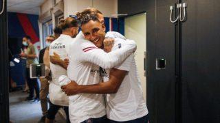 Sergio Ramos y Keylor Navas se reencuentran en París.. (PSG)