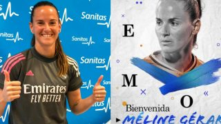 El Real Madrid fichaje a Meline Gerard. (realmadrid.com)