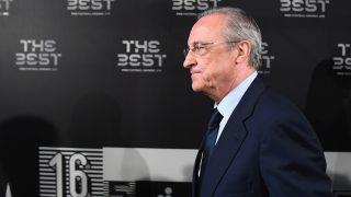 Florentino, en la gala 'The Best'. (Getty)