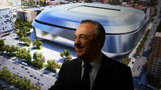 Florentino Pérez, en la presentación del nuevo Bernabéu. (realmadrid.com)