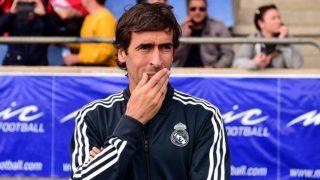 Raúl González, en un partido con el Castilla. (realmadrid.com)