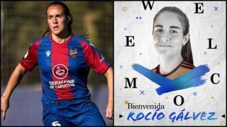 Rocío Gálvez, nuevo fichaje del Real Madrid.