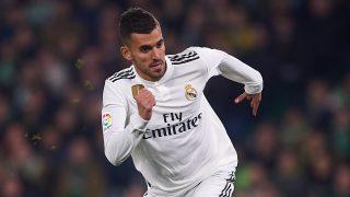 Dani Ceballos, durante un partido con el Real Madrid. (Getty)