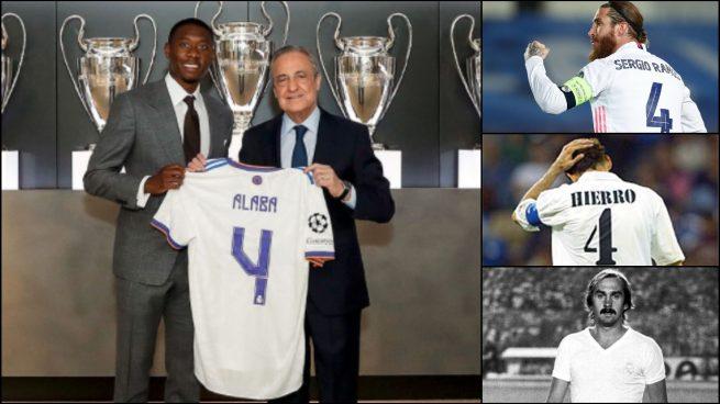 Alaba llevará el '4' del Real Madrid.