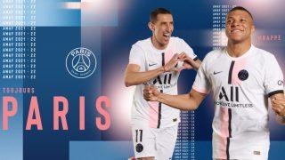 El PSG presenta su segunda equipación, que será blanca (@PSG_inside).