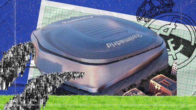 El nuevo Bernabéu acelera: el terreno de juego y los accesos, prioritarios