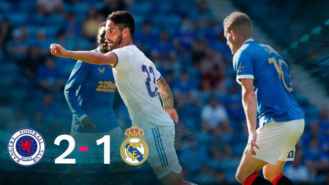 Resultado Rangers - Real Madrid