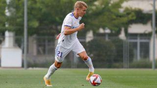 Ödegaard, durante un partido. (realmadrid.com)