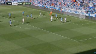 Así fue el gol de Rodrygo.