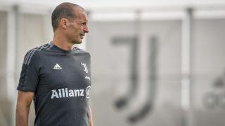 Massimiliano Allegri dirigiendo su primer entrenamiento con la Juventus. (Juventus FC)
