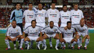 El Real Madrid, durante la época de los galácticos. (AFP)