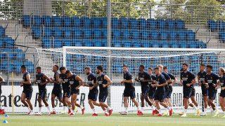 El Real Madrid se entrena en Valdebebas. (Realmadrid.com)