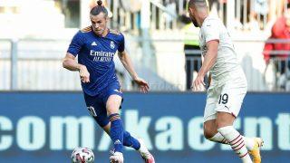 Gareth Bale, en el partido contra el Milan.