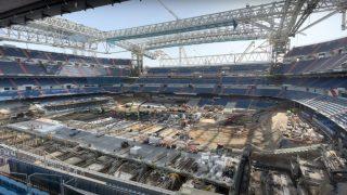 La cercha maldita del Nuevo Bernabéu