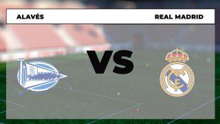 Alavés – Real Madrid: hora, canal TV y dónde ver en directo online el partido de la Liga Santander hoy.