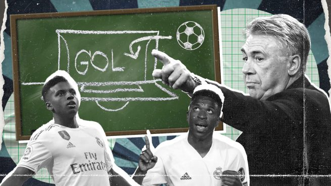 Ancelotti pone deberes a Vinicius y a Rodrygo