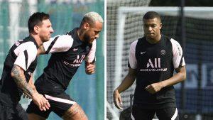Messi y Neymar ignoran a Mbappé y se disparan los rumores