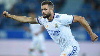 Nacho celebra un gol con el Real Madrid. (Getty)
