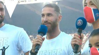 Sergio Ramos presentación PSG
