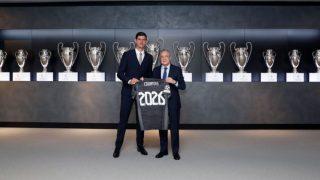 Courtois renueva con el Real Madrid.