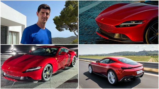Thibaut Courtois Ferrari