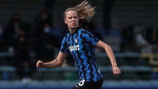 Caroline Moller, en el Inter. (Getty)