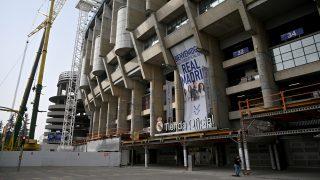 La tienda del Santiago Bernabéu. (AFP)