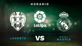 Liga Santander 2021-2022 | Levante – Real Madrid, en directo.