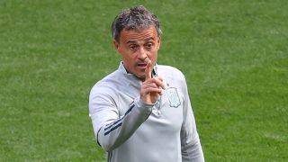 Luis Enrique sigue sin contar con jugadores del Real Madrid.