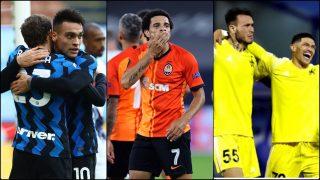 Inter de Milán, Shakhtar Donetsk y Sheriff Tiraspool, rivales en la fase de grupos de la Champions. (Getty)