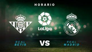 Liga Santander 2021-2022: Betis – Real Madrid | Horario del partido de fútbol de la Liga Santander.