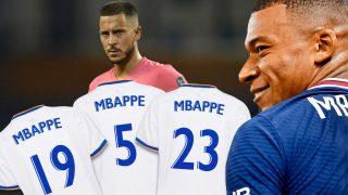 Mbappé tiene varias opciones para el dorsal.