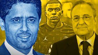 Mbappé está a punto de fichar por el Real Madrid.