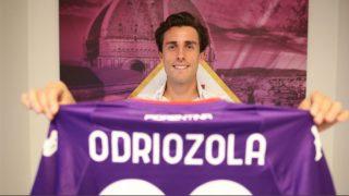Odriozola se marcha cedido a la Fiorentina.