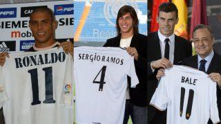 Ronaldo, Ramos y Bale, tres fichajes cerrados a última hora (AFP).