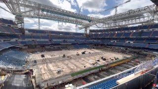 El nuevo Bernabéu está a 11 días de acoger un partido del Real Madrid.
