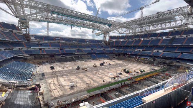 Así está el nuevo Santiago Bernabéu