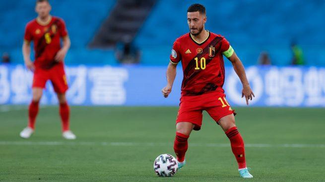 Hazard brilla en la victoria de Bélgica contra Estonia