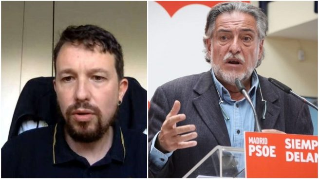 Pablo Iglesias y Pepu Hernández.