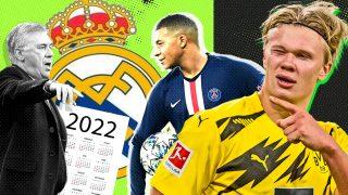 Las condiciones del Real Madrid para fichar a Mbappé y Haaland en 2022.
