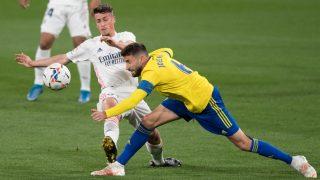 Antonio Blanco, durante un partido del Real Madrid. (Getty)
