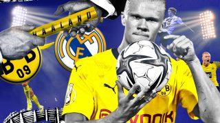 Erling Haaland, jugador del Borussia Dortmund.