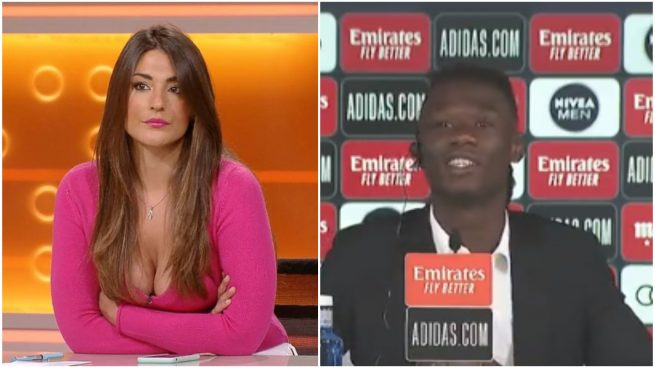 periodista TVE Camavinga