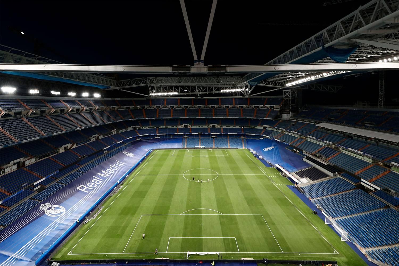 Así de espectacular durmió el Santiago Bernabéu la noche antes de su regreso