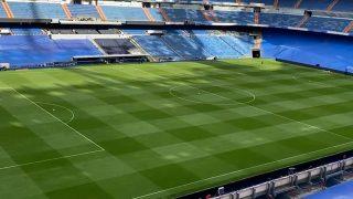 Así luce el Santiago Bernabéu