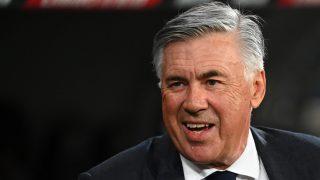 Ancelotti, durante un partido. (AFP)