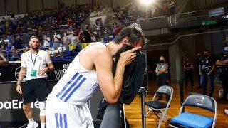 Llull, llorando tras la conquista de la Supercopa. (ACB)