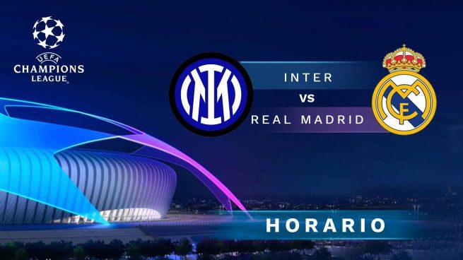 Inter de Milán - Real Madrid: jornada 1 de la Champions League