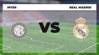 Horario y dónde ver el Inter de Milán - Real Madrid hoy